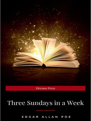 cover image of Three Sundays in a Week