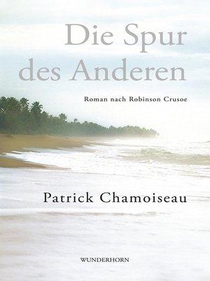 cover image of Die Spur des Anderen