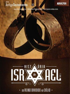 cover image of História de Israel III--Guia