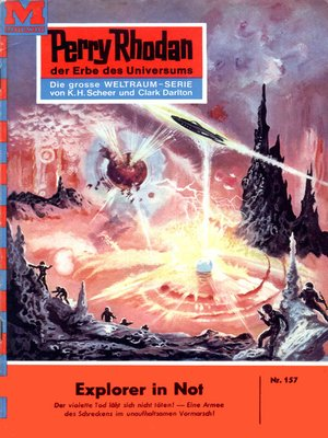 cover image of Perry Rhodan 157