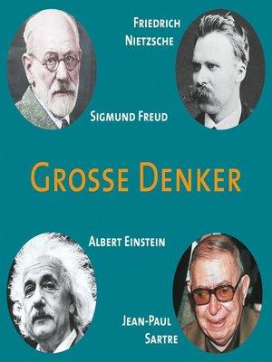 cover image of CD WISSEN--Große Denker--Teil 05