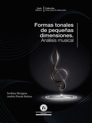 cover image of Formas tonales de pequeñas dimensiones