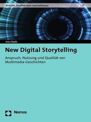 cover image of New Digital Storytelling