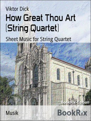 cover image of How Great Thou Art (String Quartet)