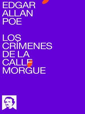 cover image of Los Crímenes de la Calle Morgue