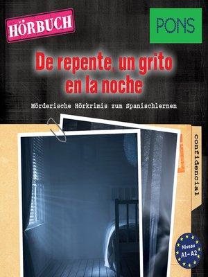 cover image of PONS Hörkrimi Spanisch