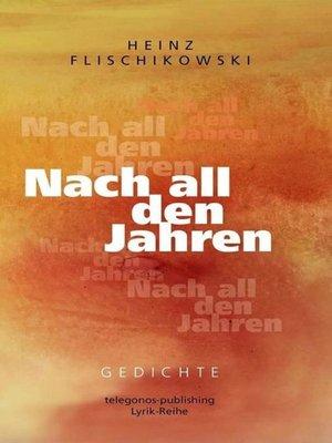 cover image of Nach all den Jahren