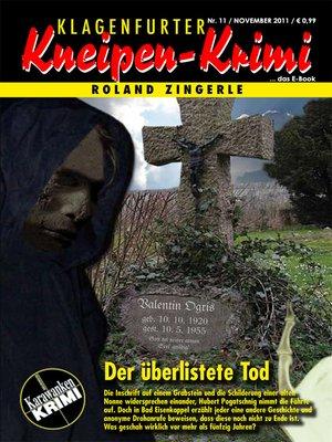 cover image of Der überlistete Tod