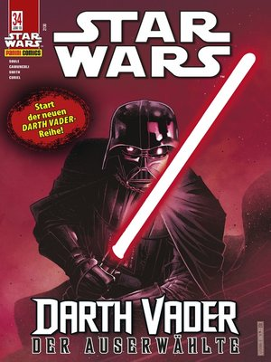 cover image of Star Wars, Comicmagazin 34--Darth Vader--Der Auserwählte