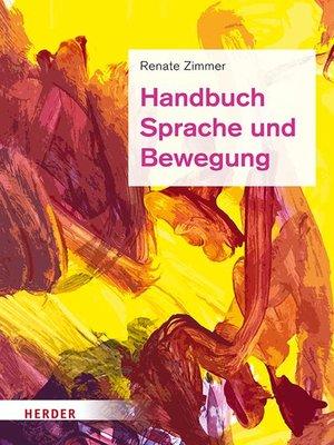 cover image of Handbuch Sprache und Bewegung