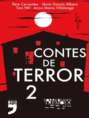 cover image of Contes de terror 2