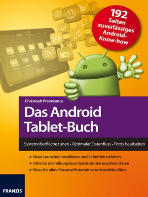 cover image of Das Android Tablet-Buch