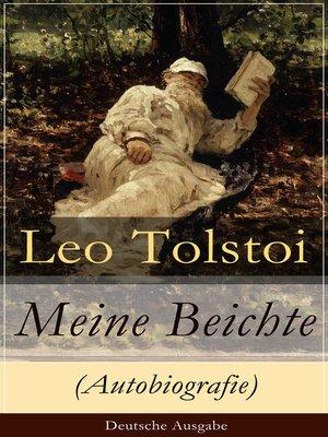 cover image of Meine Beichte (Autobiografie)--Deutsche Ausgabe