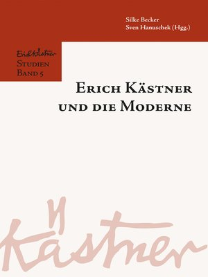 cover image of Erich Kästner und die Moderne