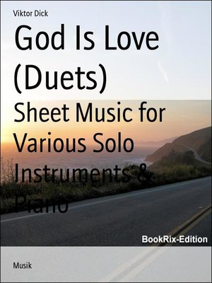 cover image of God Is Love (Duets)