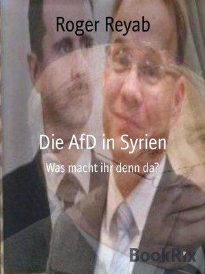 cover image of Die AfD in Syrien