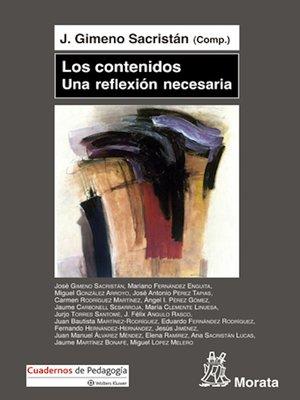 cover image of Los contenidos, una reflexión necesaria