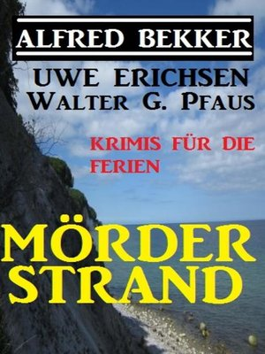 cover image of Mörderstrand--Krimis für die Ferien
