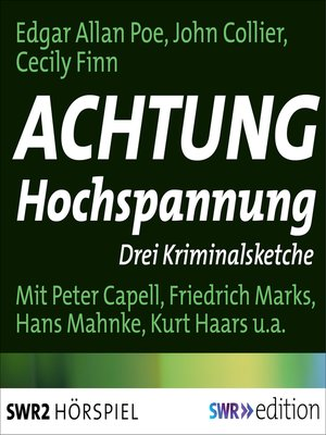 cover image of Achtung Hochspannung
