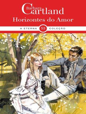 cover image of Horizontes Do Amor