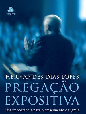 cover image of Pregação expositiva