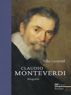cover image of Claudio Monteverdi