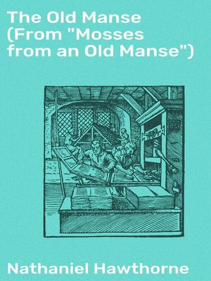 "cover image of The Old Manse (From ""Mosses from an Old Manse"")"