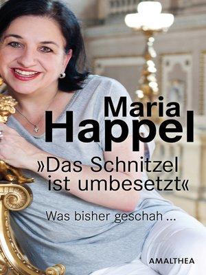 cover image of Das Schnitzel ist umbesetzt