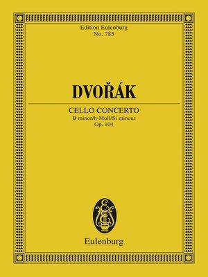 cover image of Cello Concerto B minor