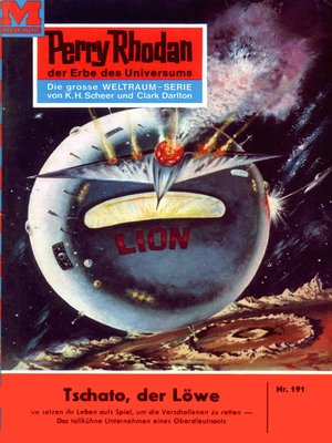 cover image of Perry Rhodan 191