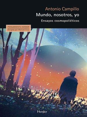 cover image of Mundo, nosotros, yo