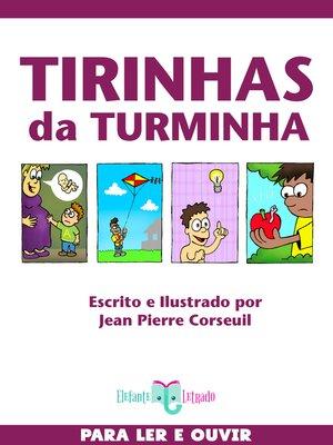 cover image of Tirinhas da Turminha
