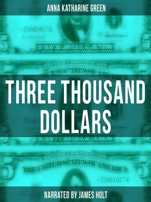 cover image of Three Thousand Dollars