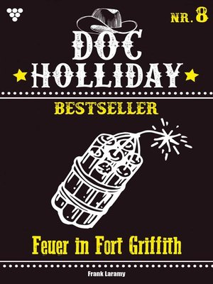 cover image of Doc Holliday Bestseller 8 – Western
