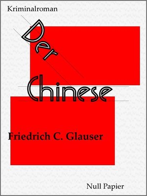 cover image of Der Chinese