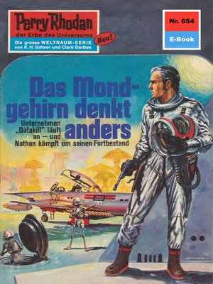 cover image of Perry Rhodan 654