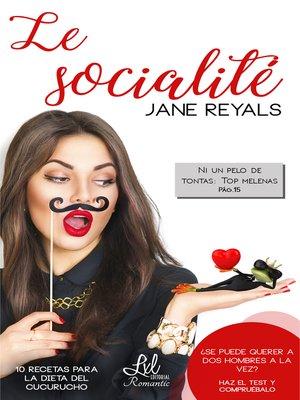 cover image of Le socialité