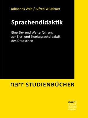 cover image of Sprachendidaktik