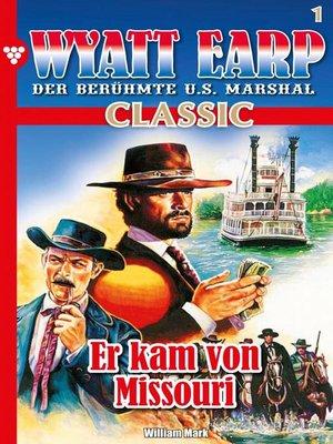 cover image of Wyatt Earp Classic 1 – Western