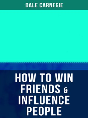 cover image of HOW TO WIN FRIENDS & INFLUENCE PEOPLE