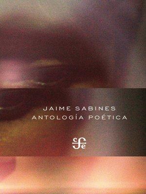 cover image of Antología poética