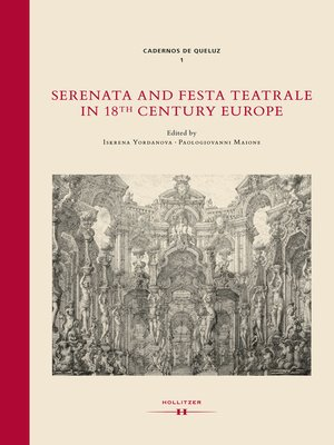 cover image of Serenata and Festa Teatrale in 18th Century Europe