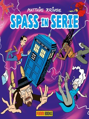 cover image of Spass in Serie