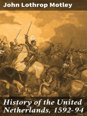 cover image of History of the United Netherlands, 1592-94