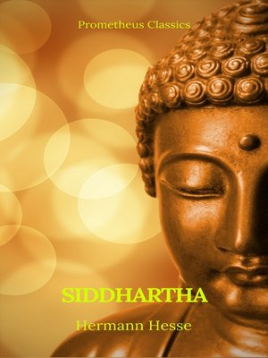 cover image of Siddhartha (Best Navigation, Active TOC) (Prometheus Classics)