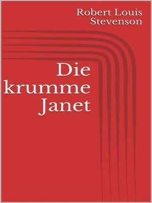 cover image of Die krumme Janet