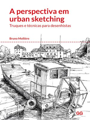 cover image of A perspectiva em urban sketching