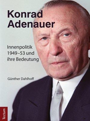 cover image of Konrad Adenauer