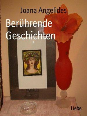 cover image of Berührende Geschichten