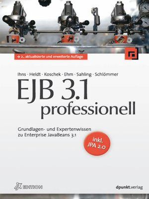 cover image of EJB 3.1 professionell (iX Edition)